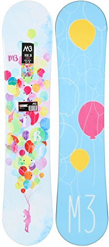 M3 Vibe Jr. Snowboard Girls Sz 130cm ()
