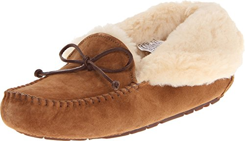 UGG Women's Alena Slipper, Chestnut, 11 B US (Best Uggs For Narrow Feet)