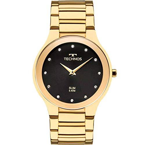 Relógio Technos Swarovski Analógico Feminino 1L22WI/4P