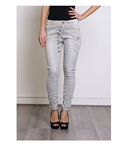by Baggy amp; Zac Jeans Zoe BOYFRRIEND Gris twaqX10Xx