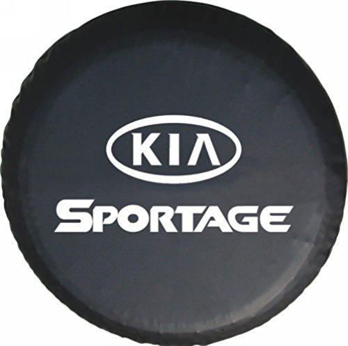 Bobbycool Size M For 1995-2002 KIA SPORTAGE 15 Inch New Universal Spare Tire Type Cover Wheel Covers