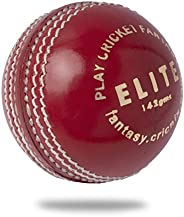 Cricnix Cricket Ball Elite Red Leather (1-Pack/3-Pack/6-Pack) 142g for Women or Juniors Match