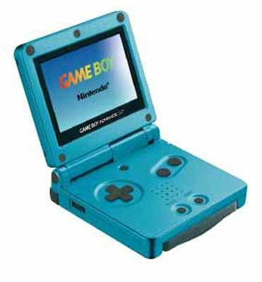Game Boy Advance SP Pearl Blue [Game Boy Advance]