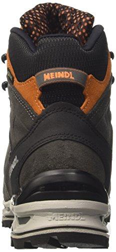 Meindl Air Revolution, Zapatillas de Marcha Nórdica para Hombre, Anthrazit Orange Gris (Anthracite /ligh)