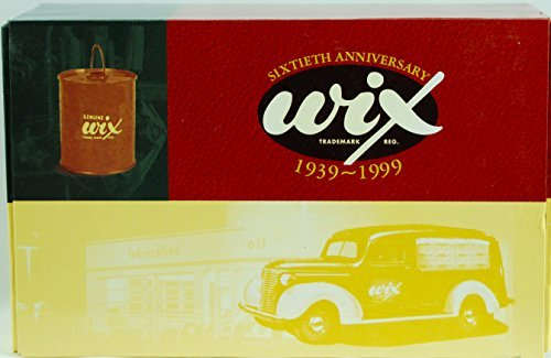 1999 - First Gear Inc - Item #99074 - WIX Filters 60th Anniversary - 1939 Chevrolet Canopy Panel Truck / Era Oil Filter Bank - die Cast Metal - OOP (Chevrolet Canopy)