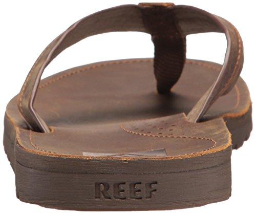 Reef Voyage Lux, Infradito Uomo Marrone (Brown/Brown Br2)