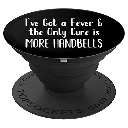 Handbell Fever Smartphone and Tablet Stand Grip - PopSockets Grip and Stand for Phones and Tablets