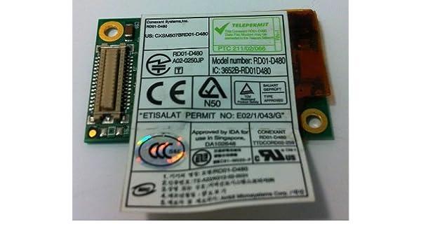 CONEXANT D480 DRIVER PC