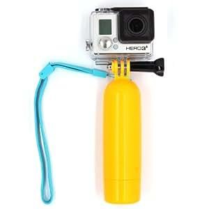 Smatree® Floating Hand Grip +Thumb screw monopod floaty tripod mount adapter pole for GoPro HERO3+ HERO3 HERO2 HERO1 Camera