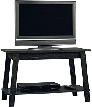 Sauder Beginnings Ebony Ash TV Stand