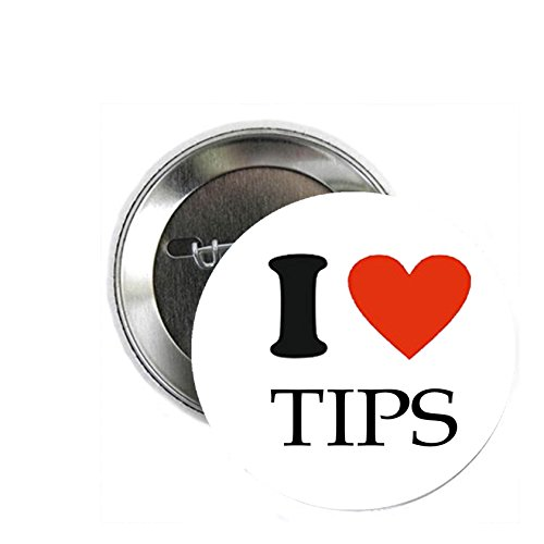 Love Pinback Button (I Love Tips 1.25