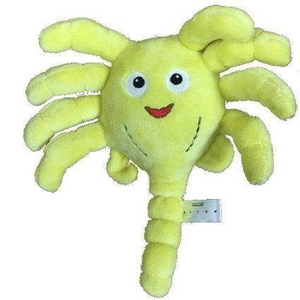 Phunny Yellow Alien Face Hugger 8 Inch Plush Soft Toy (Plush Hugger)