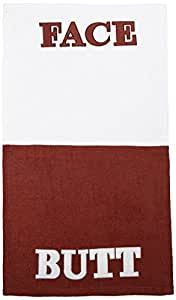 "Westminster Butt Face Towel 100% Cotton Towel (Approx.44"" x 25"")"