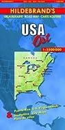 Carte routière : USA, Ost par Hildebrand