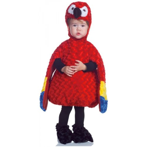 [Belly Babies Parrot Costume - Large] (Parrot Costume Wings)