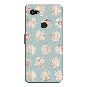 Cover It Up - Silver Star Pale Blue Pixel 2 XL Hard Case