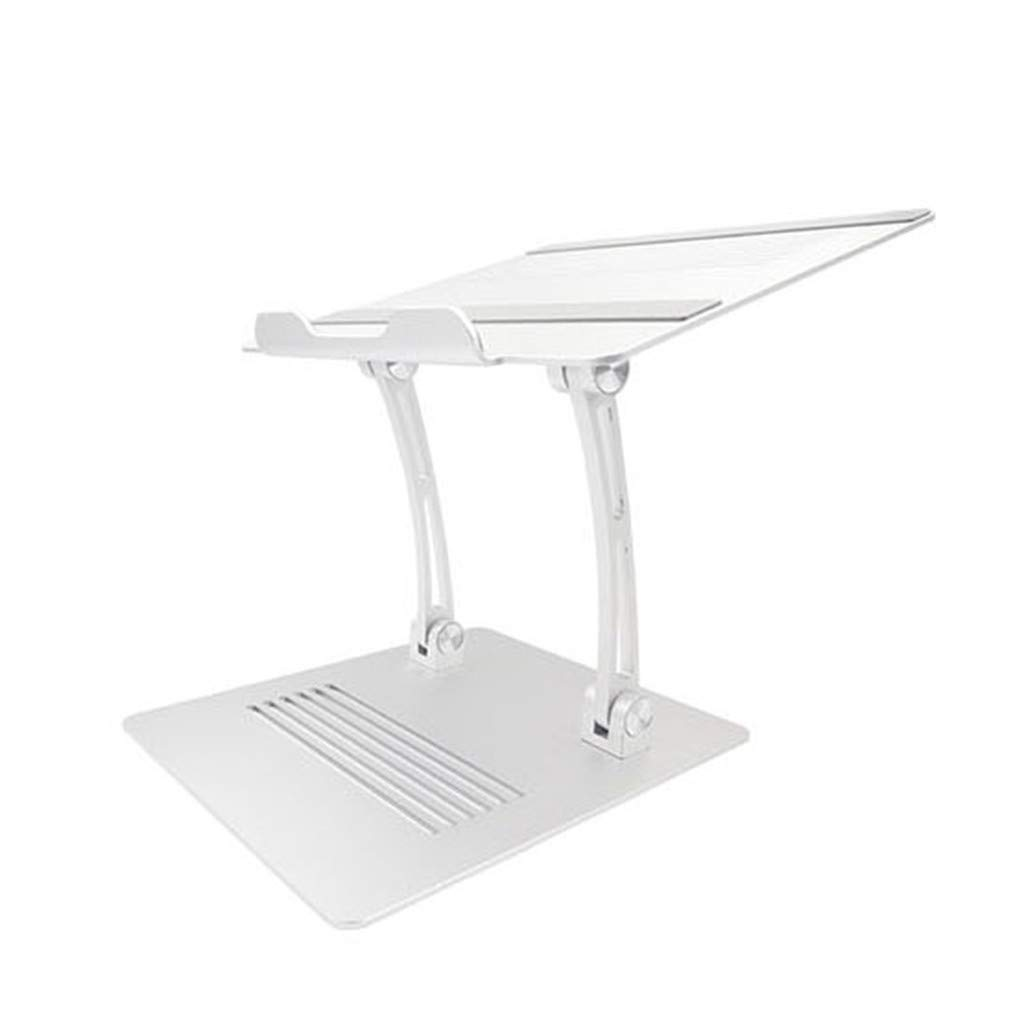 Aiaban Laptop Stand, Boyata Laptop Holder, Multi-Angle Stand with Heat-Vent to Elevate Laptop, Adjustable Notebook Stand