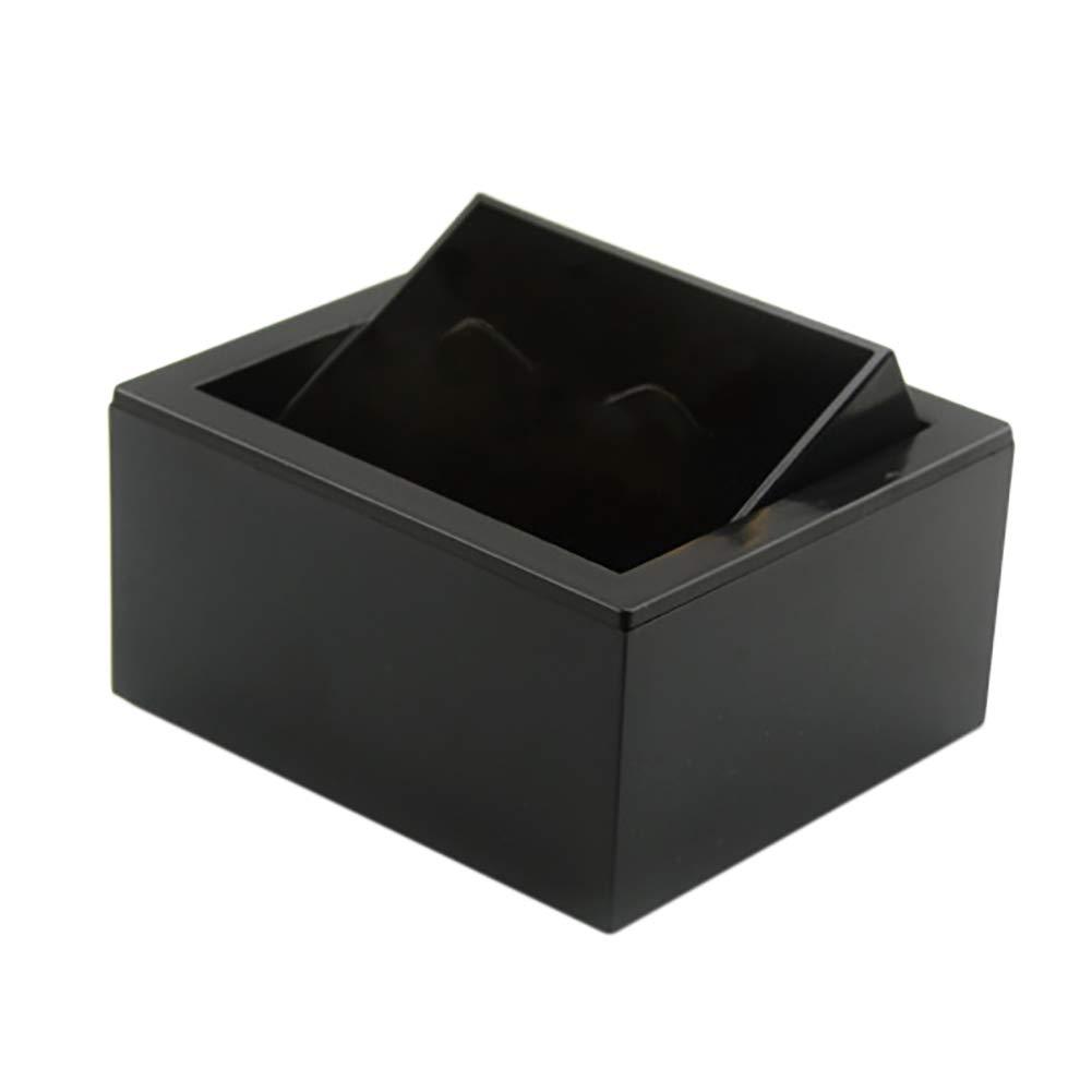Lumanuby. 1*Cajas de Regalo Rectangulares Elegantes para Presentación de Joyería Caja de Almacenamiento para Joyas Espuma con Ranura para Ver y Collar 8 * 7.5 * 4.5cm SHANGYUANMUJU