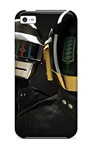 Slim Fit Tpu Protector Shock Absorbent Bumper French Musicians Daft Punk Case For Iphone 5c