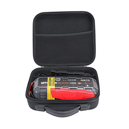 XBERSTAR EVA Hard Storage Case Carry Bag Travel Pouch Cover for NOCO Genius Boost GB70 HD 2000 Amp 12V UltraSafe Lithium Jump Starter -  EBSC293.