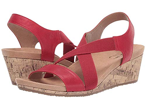 (LifeStride Women's Mexico Red 8.5 M US)