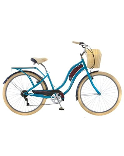 Kulana Women's Kahu 26'' Cruiser Bike (Ocean Blue) (Bike Cruiser Wheels 26')