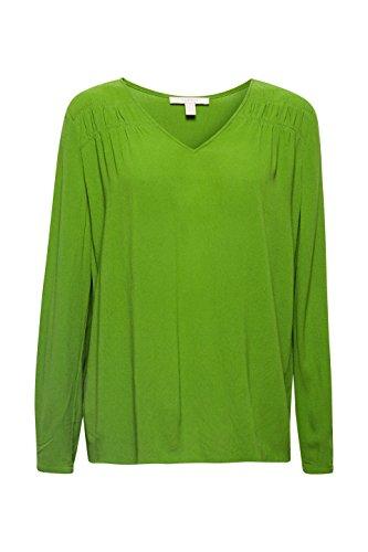 Femme Blouse 310 Green Vert Esprit 7Upqw5Xn7