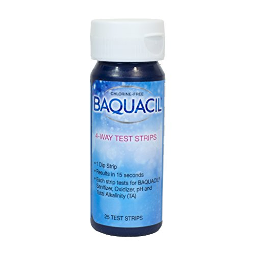 Baquacil 4 Way Test Strips (25 count) (2 Pack)