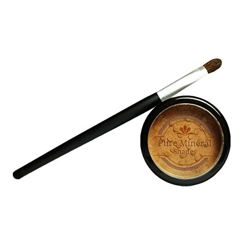 Pure Mineral Shades Root Concealer - Touch Up Kit with Brush - All Natural - Fast - Easy - Instant - Temporary Magic Powder Cover-Up - Covers Grey Roots Too - Fast Shades