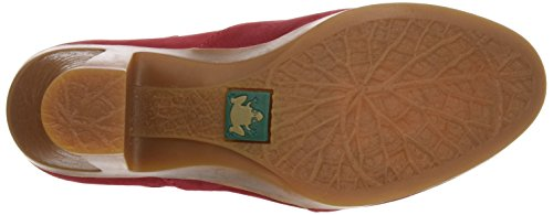 Tibet Rouge N588 El à Espiral Fermé Bout Escarpins Naturalista Femme Pleasant 1qqxHzvwn4