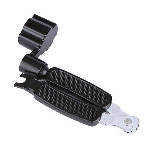 - Guitar String Winder String Cutter Pin Puller, KEWAYO 3 in 1 Guitar Maintenance Tool Repair Tool