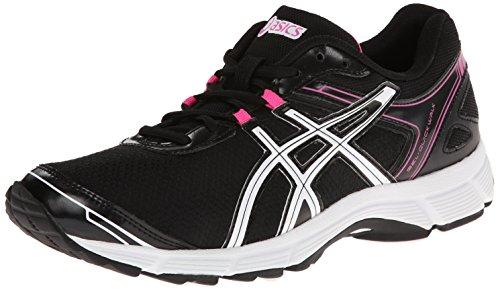 ASICS Women's Gel Quick WK 2 Walking Shoe,Black/White/Pink,7.5 M US