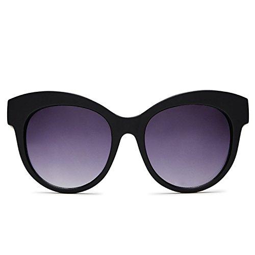 Quay Australia MAIDEN Women's Sunglasses Oversized Round Cat Eye - - Cat Quay Sunglasses Eye