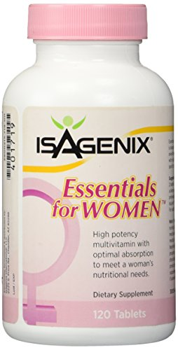 Isagenix Essentials for Women – 120 Capsules