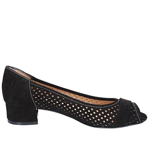 CALPIERRE Zapatos de Salón Mujer 35 EU Negro Gamuza