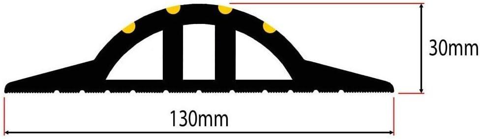 Weather Stop 515 x 30 mm Kit de joint de seuil de porte de garage haut WS009-617 Noir