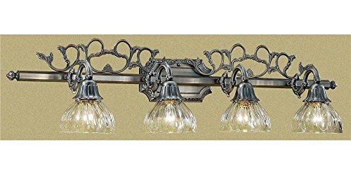 (Classic Lighting 57368 AGP Majestic, Cast Brass And Lead Crystal, Vanity Lighting, 10