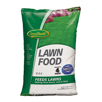 Knox Fertilizer Company GT56606 Green Thumb Lawn Food - Thumb Lawn Green