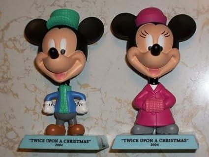 Mickey Mouse Twice Upon A Christmas.Amazon Com Disney Holiday Treasures Upper Deck 2004