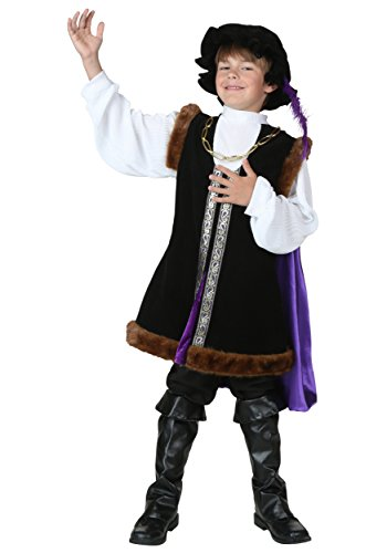 Child Noble Man Costume Large -