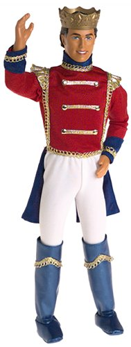 Barbie Nutcracker KEN as Prince Eric Doll (2001)