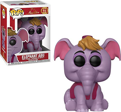 Funko 35755  Pop! Disney: AladdinElephant Abu, Multicolor