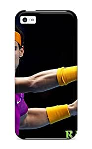 LJF phone case Audunson Case Cover For ipod touch 5 - Retailer Packaging Rafael Nadal Tennis Protective Case