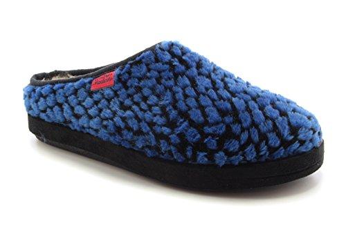 Am001puntos Mujer Estar De Zapatillas Casa Blau Por Machado Andres Lona Para BqTz4PPwx