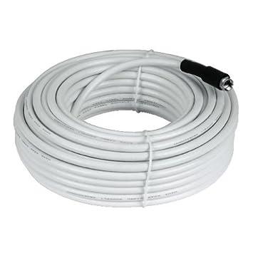 Hama SAT-conexión-Kit, cable coaxial rígido con 2 F-connettore,