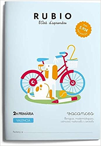 VACANCES - 2N PRIMÀRIA - VALENCIÀ: Amazon.es: S.L.U ENRIQUE RUBIO ...
