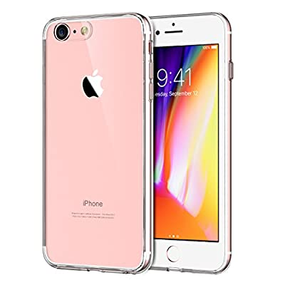 JETech Apple iPhone 8 iPhone 7 Case Shock-Absorption Bumper Cover Anti-Scratch Clear Back (HD Clear)