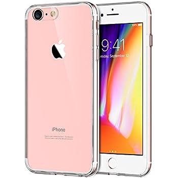 JETech Apple iPhone 8 iPhone 7 Case Shock-Absorption Bumper Cover Anti-Scratch Clear Back (HD Clear)