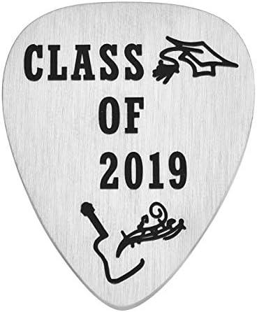 クラス・オブ・2019 ギターピック 卒業生 卒業祝い 高校卒業祝い 男の子 ミュージシャンギフト