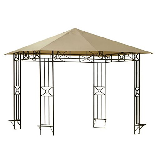 Cola Gazebo (Garden Winds Replacement Canopy for the Cola Gazebo Rip Lock 350)